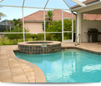 Lanai and Pool Cage Pressure Washing  Bonita Springs